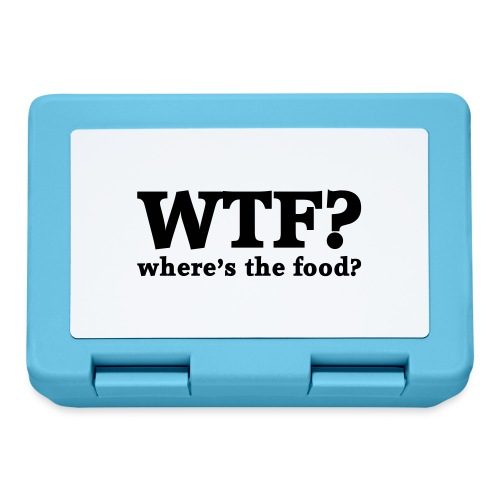 WTF - Where's the food? - Broodtrommel