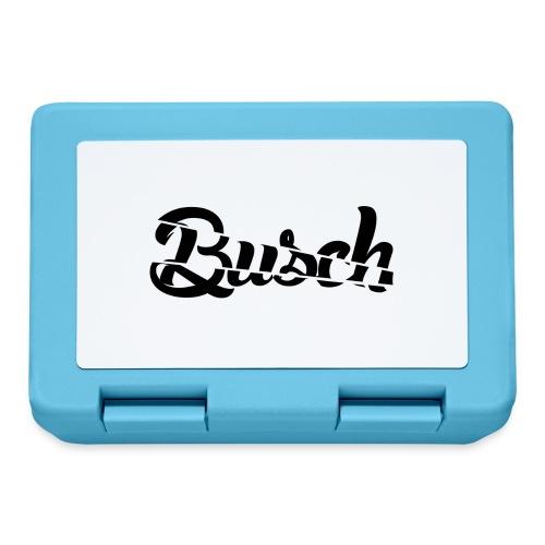 Busch shatter black - Broodtrommel