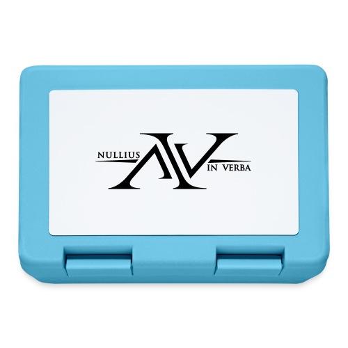 Nullius In Verba Logo - Lunchbox