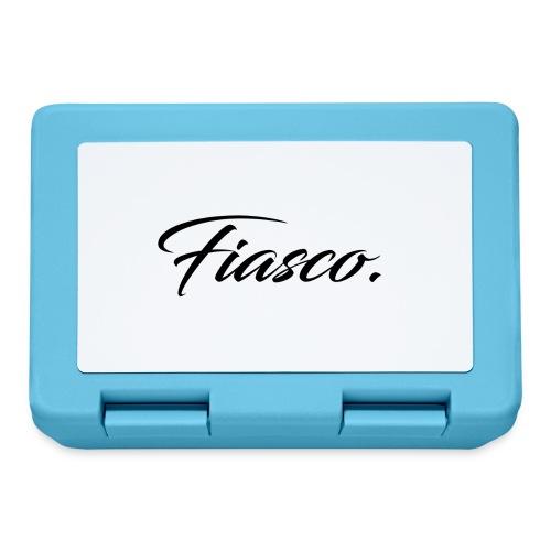 Fiasco. - Broodtrommel