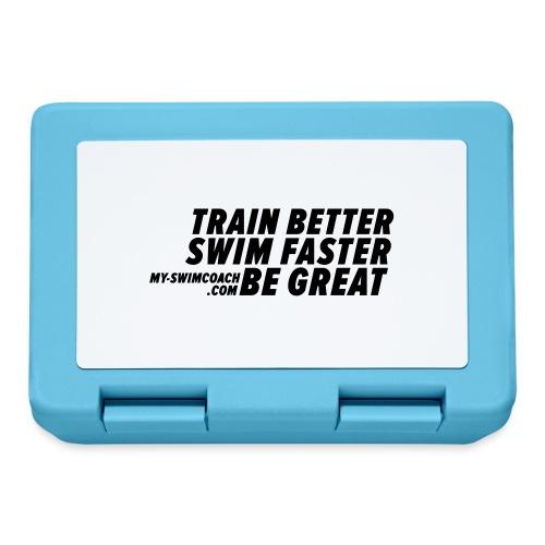 TRAIN BETTER. SWIM FASTER. BE GREAT. - Brotdose