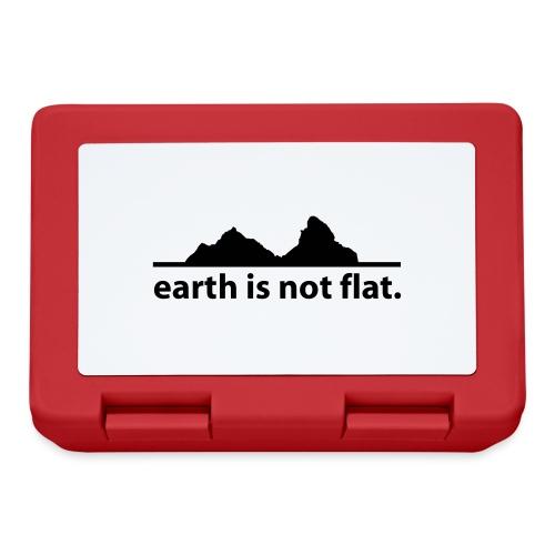 earth is not flat. - Brotdose