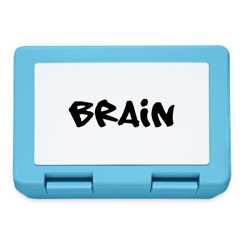 brain schriftzug - Brotdose