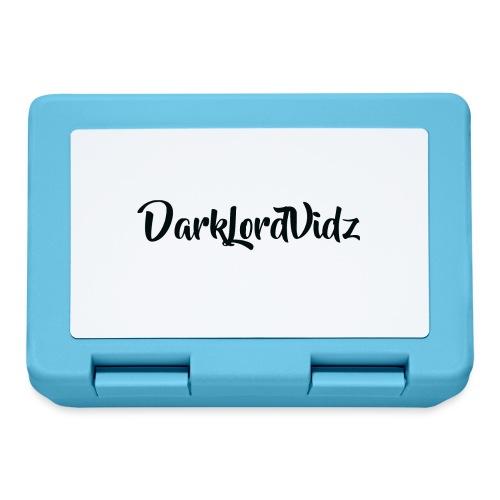 DarklordVidz Black Logo - Lunchbox