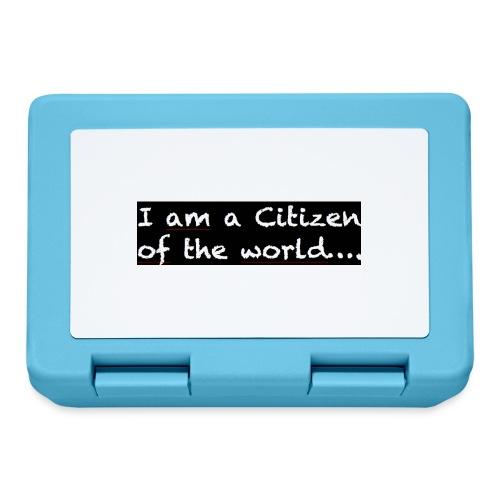 I am a citizen of the world - Matlåda