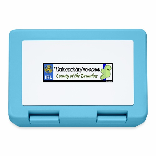 MONAGHAN, IRELAND: licence plate tag style decal - Lunchbox