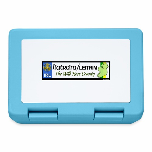 LEITRIM, IRELAND: licence plate tag style decal eu - Lunchbox