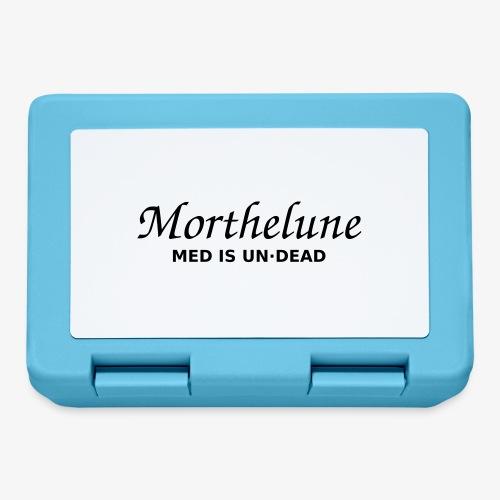 Morthelune - Med is undead - blanc - Boîte à goûter.