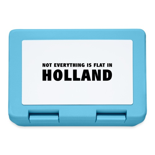 Not everything is flat in Holland - Broodtrommel