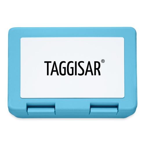 Taggisar Logo Black - Matlåda