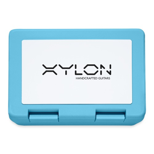 Xylon Handcrafted Guitars (plain logo in black) - Lunchbox