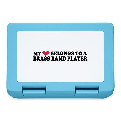 MY HEART BELONGS TO A BRASS BAND PLAYER - Matboks