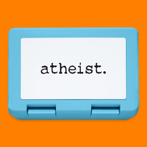 atheist BLACK - Lunchbox