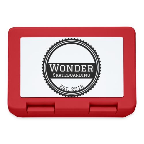 Wonder unisex-shirt round logo - Madkasse