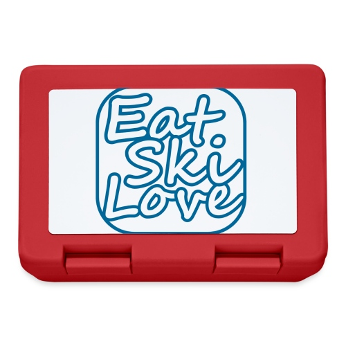 eat ski love - Broodtrommel
