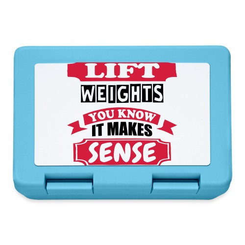 Lift Weights - Lunchbox