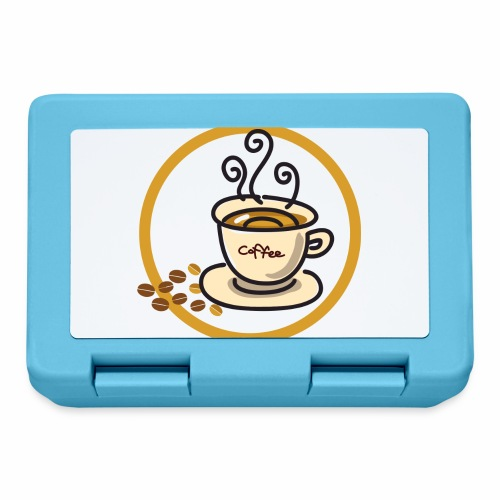 Kaffeeemblem - Brotdose