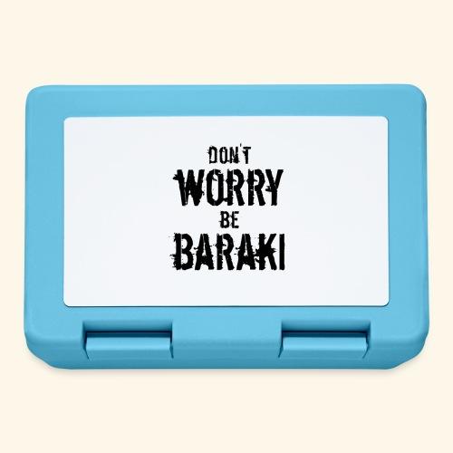 Be Baraki (Noir) - Boîte à goûter.