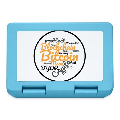 Bitcoin Tag Cloud - Lunchbox