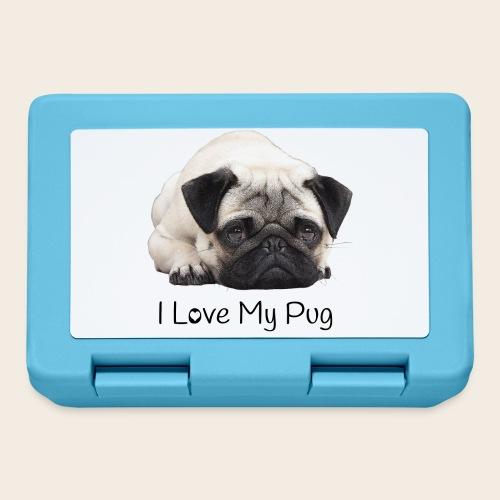 love my pug - Brotdose