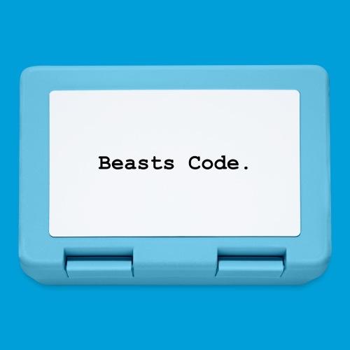 Beasts Code. - Lunchbox