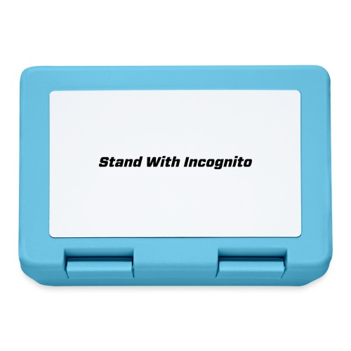 Stand With Incognito - Lunchbox