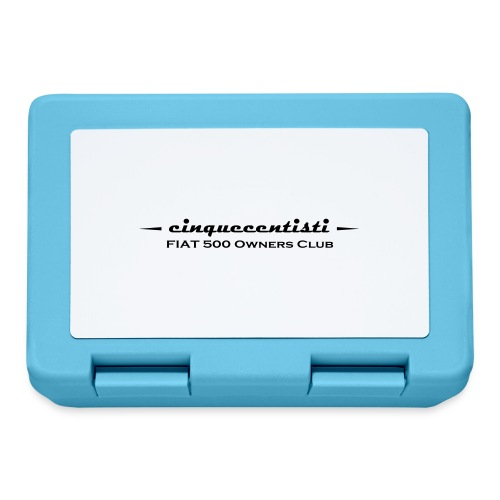 Cinquecentisti 500 Owners Club Vector - Lunch box