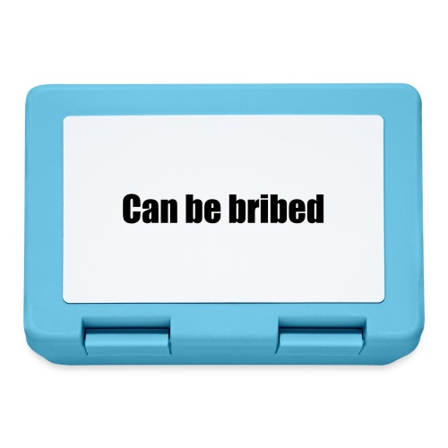 Can be bribed - Lunchbox