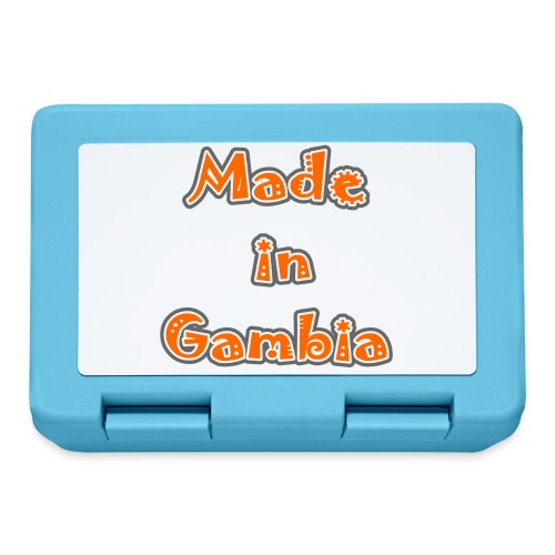 Made in Gambia - Lunchbox