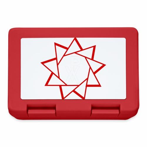 P.V.A. STELLA A 9 PUNTE ROSSO FUOCO - Lunch box