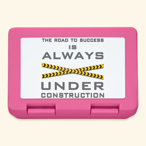 The road to success is always under construction - Lunchbox