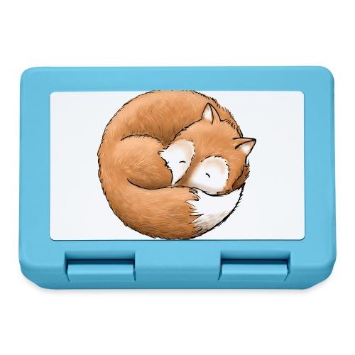 Der Fuchs macht ein Nickerchen - Brotdose