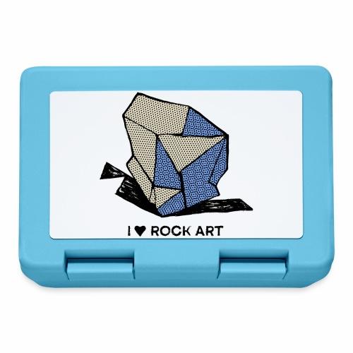 I LOVE ROCK ART No 1 colour - Broodtrommel