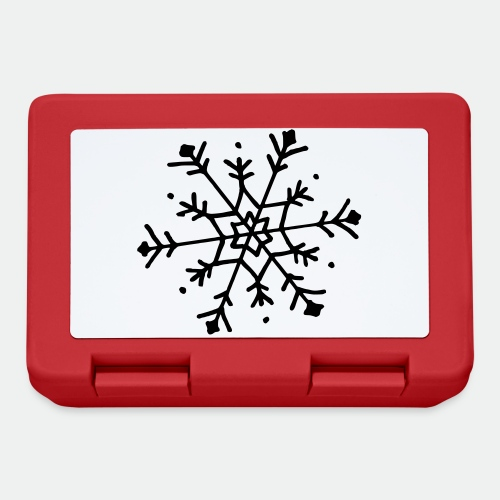 Cute snowflake - Lunchbox