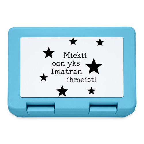 Miekii oon yks Imatran Ihmeist lasten t-paita - Eväsrasia