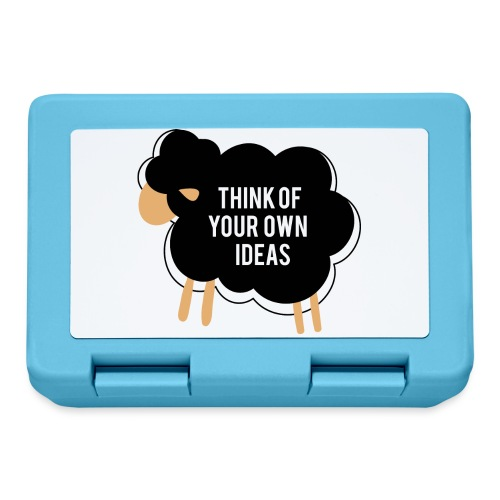 Think of your own idea! - Lunchbox