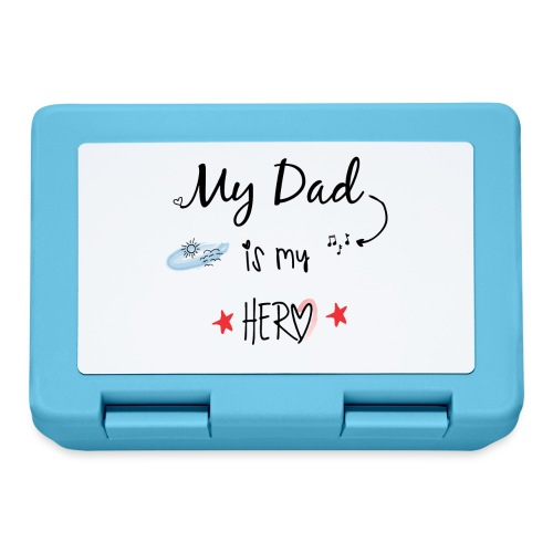 Dad is my Hero - Lunch box