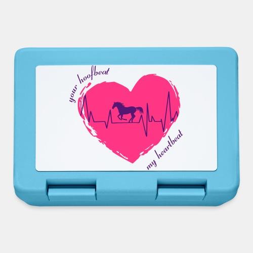 your hoofbeat is my heartbeat galopp_pferd - Brotdose