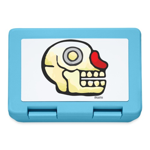 Aztec Icon Death - Lunchbox