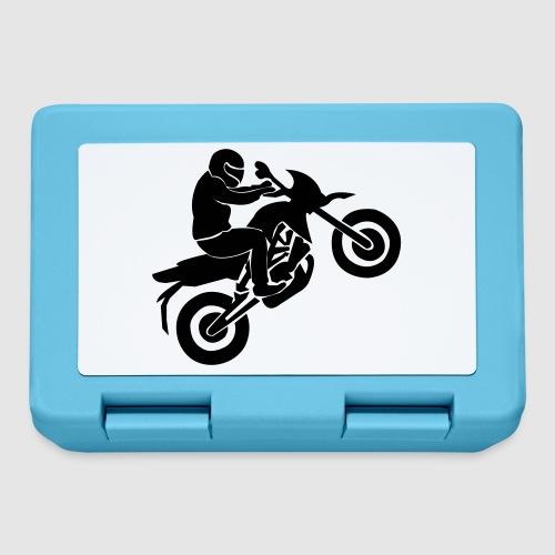 Motorradfahrer - Brotdose