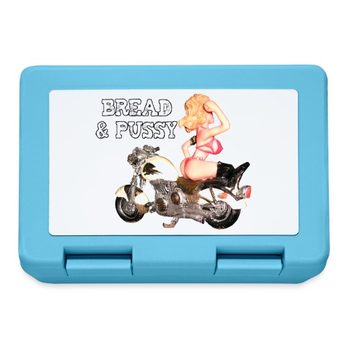 LOGO BREAD AND PUSSY - Lunch box
