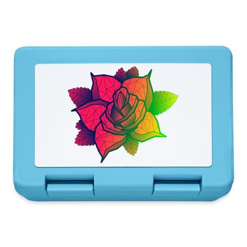 rose tricolore - Boîte à goûter.