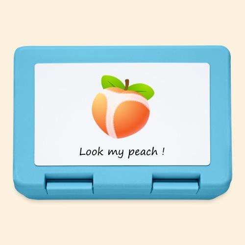 Look my peach - Boîte à goûter.