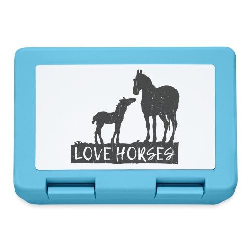 Kocham konie - Pudełko na lunch