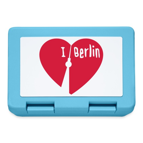 I love Berlin (1-farbig) - Brotdose