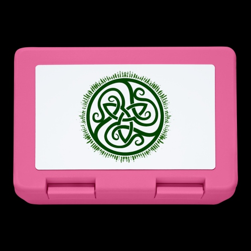 Green Celtic Triknot - Lunchbox