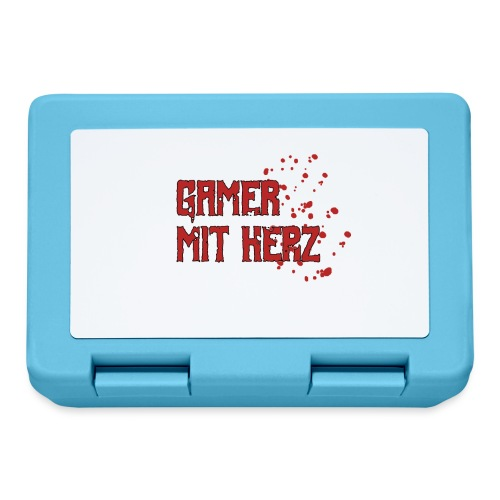 Gamer with heart - Lunchbox