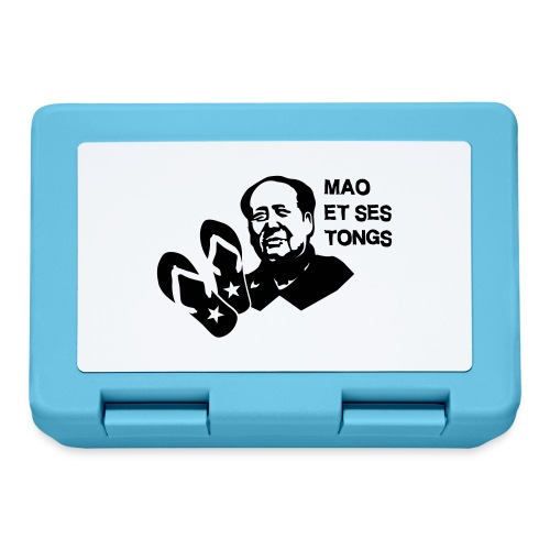 MAO et ses tongs - Boîte à goûter.
