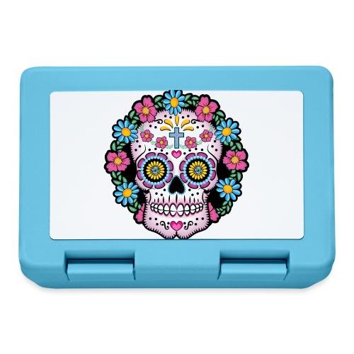 Dia de los Muertos Skull- - Lunchbox