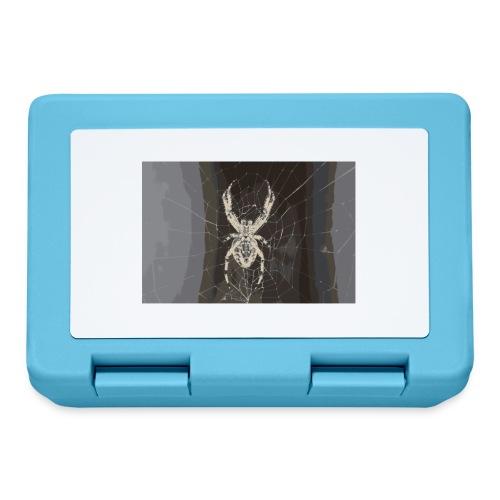 attacking spider - Brotdose